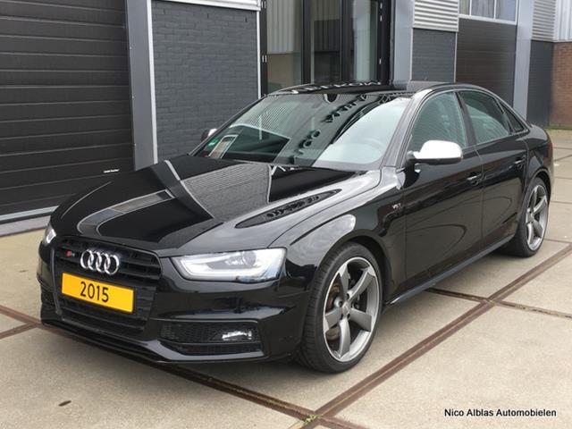 Audi-S4-Audi S4 3.0 V6T 333pk TFSI Quattro automaat van 1e eigenaar-OrangeFinancialLease.nl