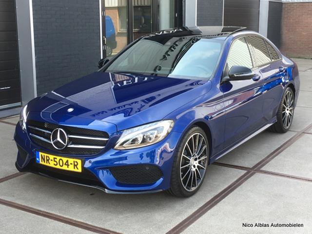 Mercedes-Benz-C-klasse-Mercedes-Benz C-klasse C180 AMG Sport Edition automaat Orgineel NL, 1e eigenaar-OrangeFinancialLease.nl