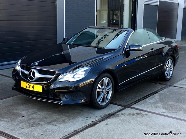 Mercedes-Benz-E-klasse-Mercedes-Benz E-klasse E250 CGi Cabriolet aut. AMG 1e eig-OrangeFinancialLease.nl