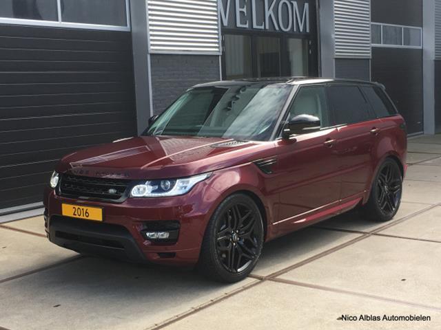 Rover-Range Rover Sport-Rover Range Sport Land 3.0TDV6 HSE 7 persoons 2016 1e eigenaar, Superstaat1-OrangeFinancialLease.nl
