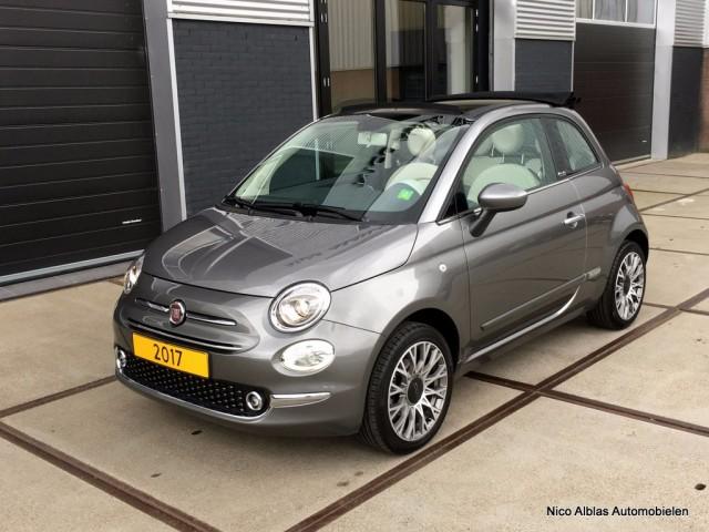 Fiat-500c-Fiat 500c Lounge 1.2 69pk slechts 5447KM!-OrangeFinancialLease.nl