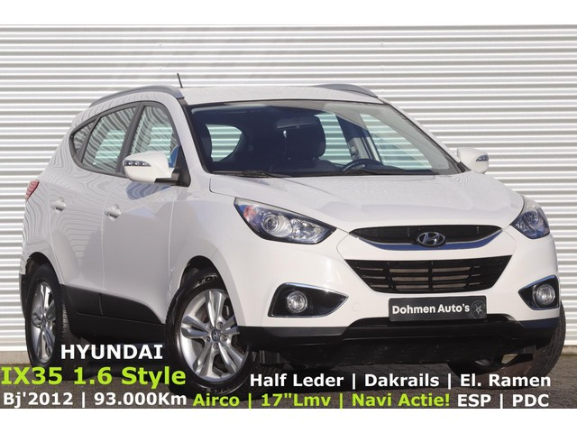 Hyundai-Ix35-Hyundai Ix35 1.6i GDI Style | Airco | H.Leer | Navi Actie! | PDC | 17