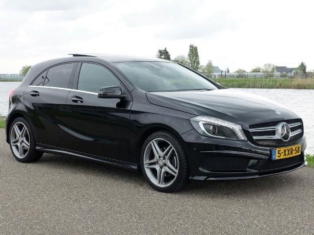 Mercedes-Benz-A-klasse-Mercedes-Benz A-klasse 200 CDI Automaat * AMG Pakket * Panorama-OrangeFinancialLease.nl