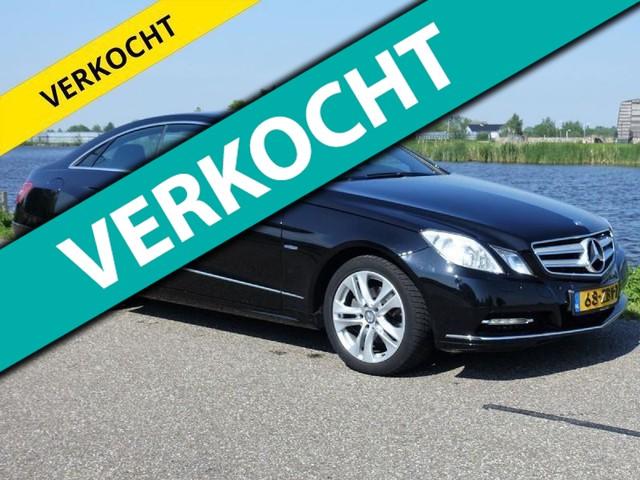 Mercedes-Benz-E-klasse-Mercedes-Benz E-klasse Coupé 250 CGI Automaat * VAKANTIEVOORDEEL *-OrangeFinancialLease.nl