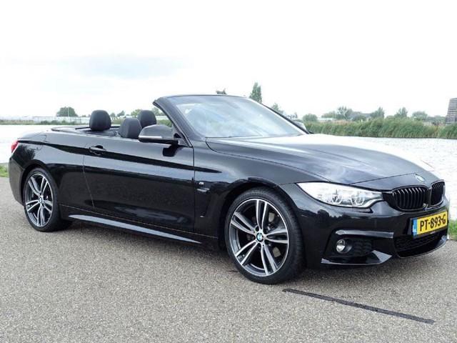 BMW-4-serie-BMW 4-Serie cabrio 420d High Executive * M Pakket-OrangeFinancialLease.nl