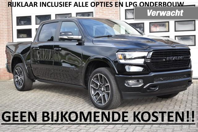 Dodge-Ram Pick Up-Dodge Ram Pick Up Pickup 1500 Laramie/Sport BLACK EDITION-OrangeFinancialLease.nl