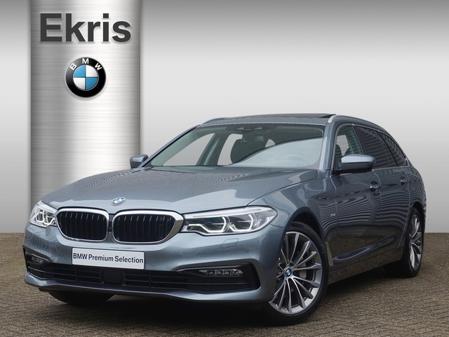 BMW-5-serie-BMW 5 Serie 530i Touring Aut. High Executive Sportline-OrangeFinancialLease.nl